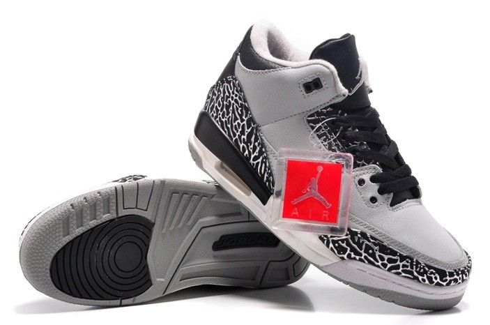 huge discount d4338 40ac5 Air Jordan 3 Womens Shoes Nike Iii Retro New White Black Special