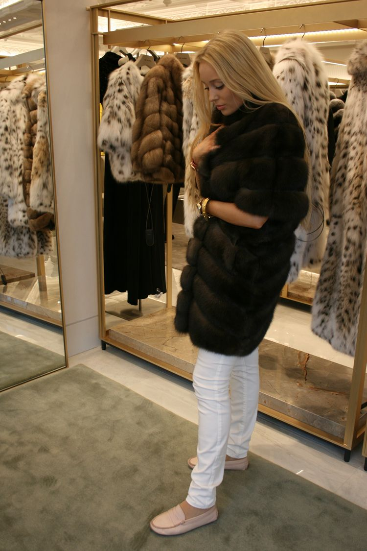 release date: store buy best yves salomon fur jacket harrods | Fur, Fur coats women, Fur coat