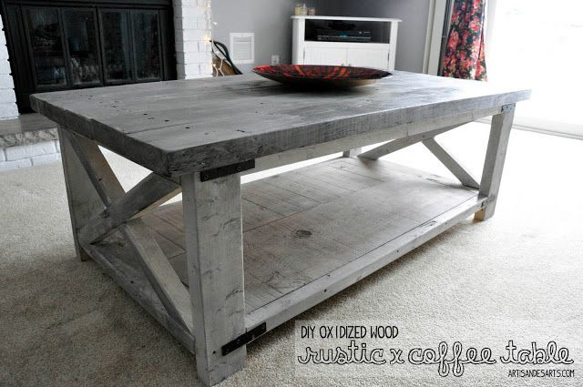 Oxidizing Wood For Grey Washed Look Coffee Table Wood Grey Wood