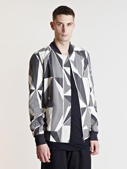 cb6b80ac0 Rick Owens DRKSHDW Men's Camouflage Bomber Jacket | TREND GUIDE ...