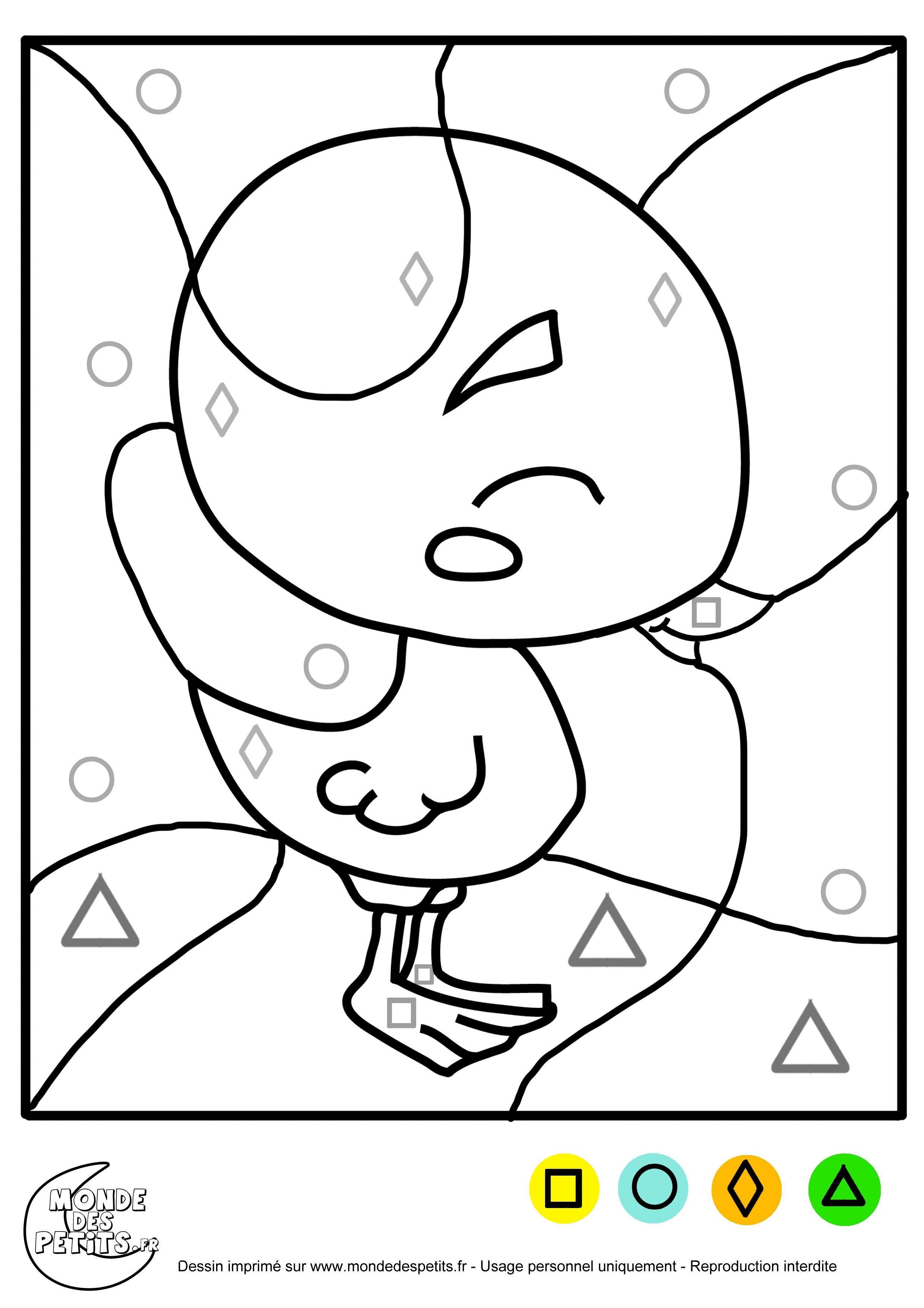 Coloriage Maternelle Petite Section   Coloriage magique à imprimer ...