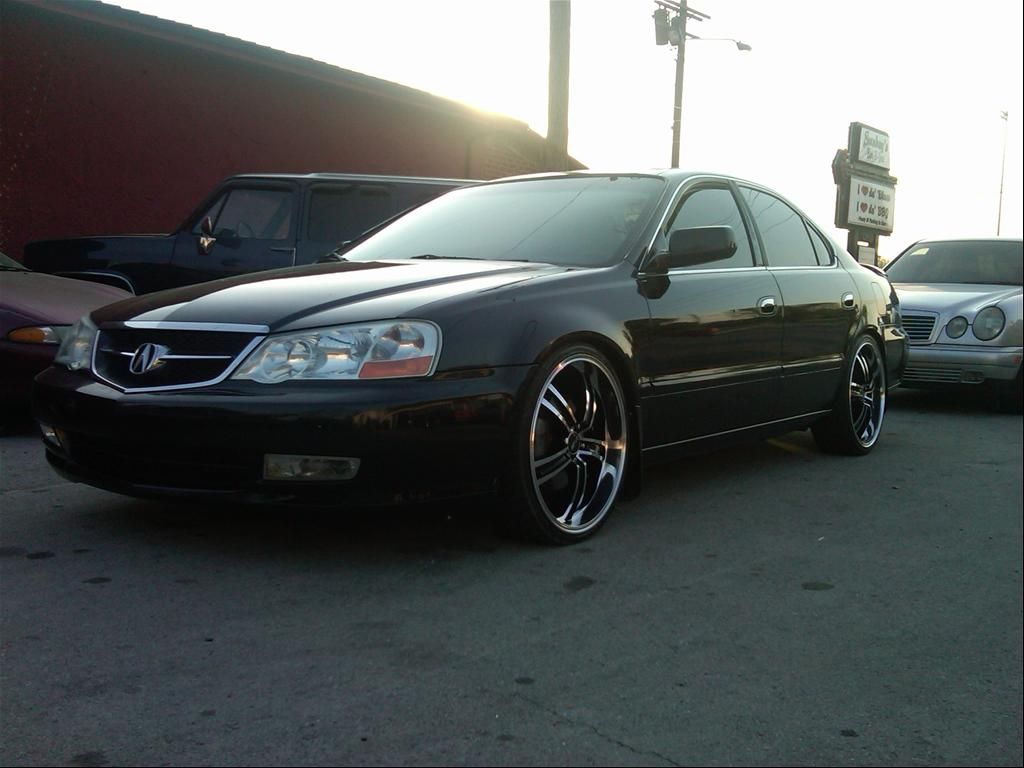 Custom Acura with Wheels tl-s 2002 | and show you guys my ...