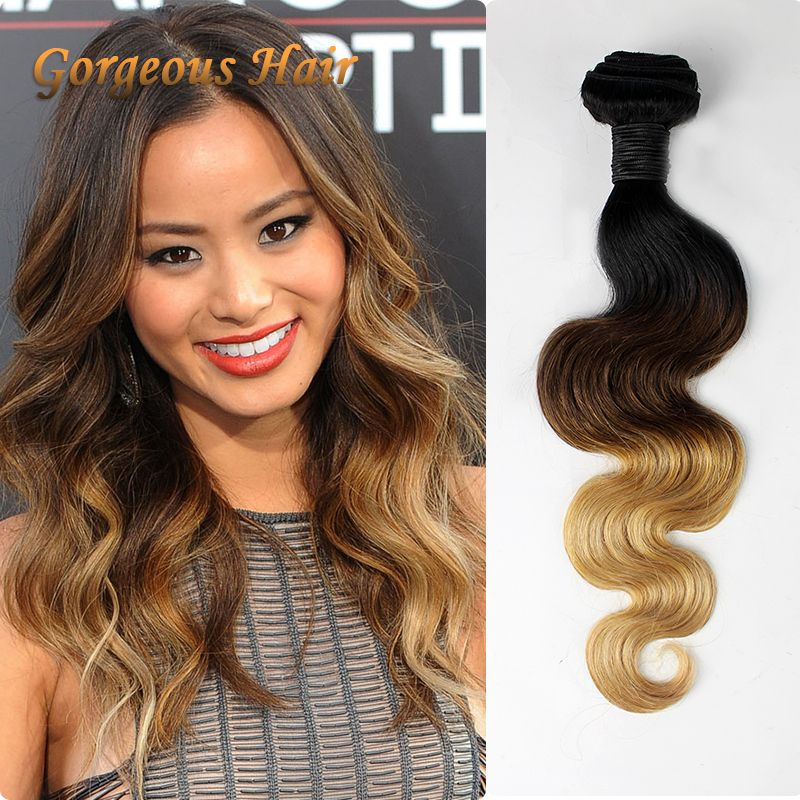 Find More Hair Weaves Information About Ombre 3 Tone 1b427 Natural