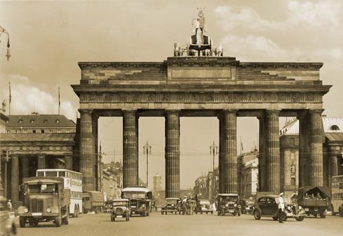 1940 Brandenburger Tor Brandenburg Gate Berlin Past