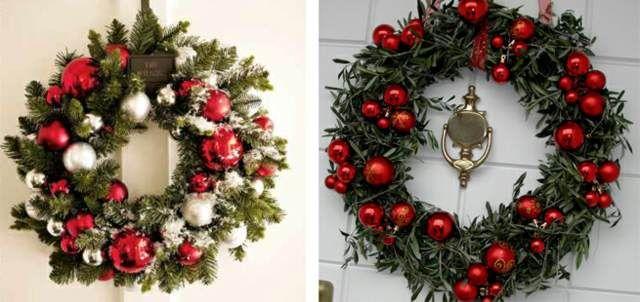 una decoración original las bolas navideñas