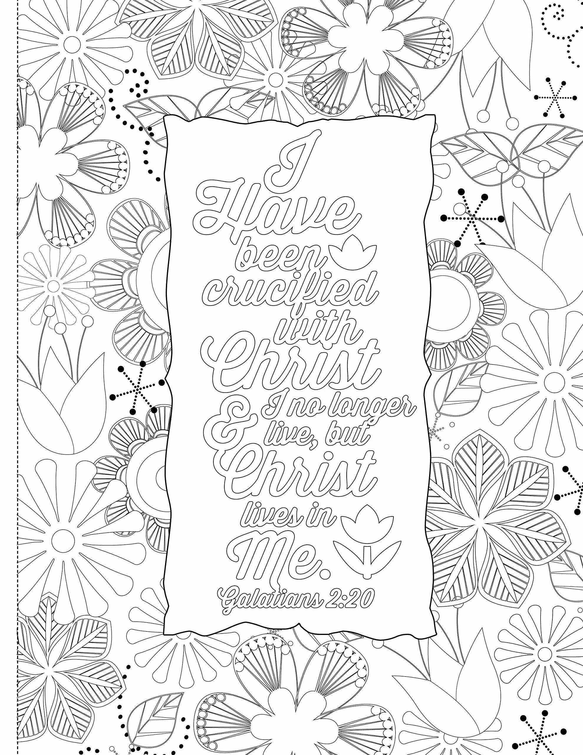 Inspiring Words: 30 Verses from the Bible You Can Color: Zondervan ...