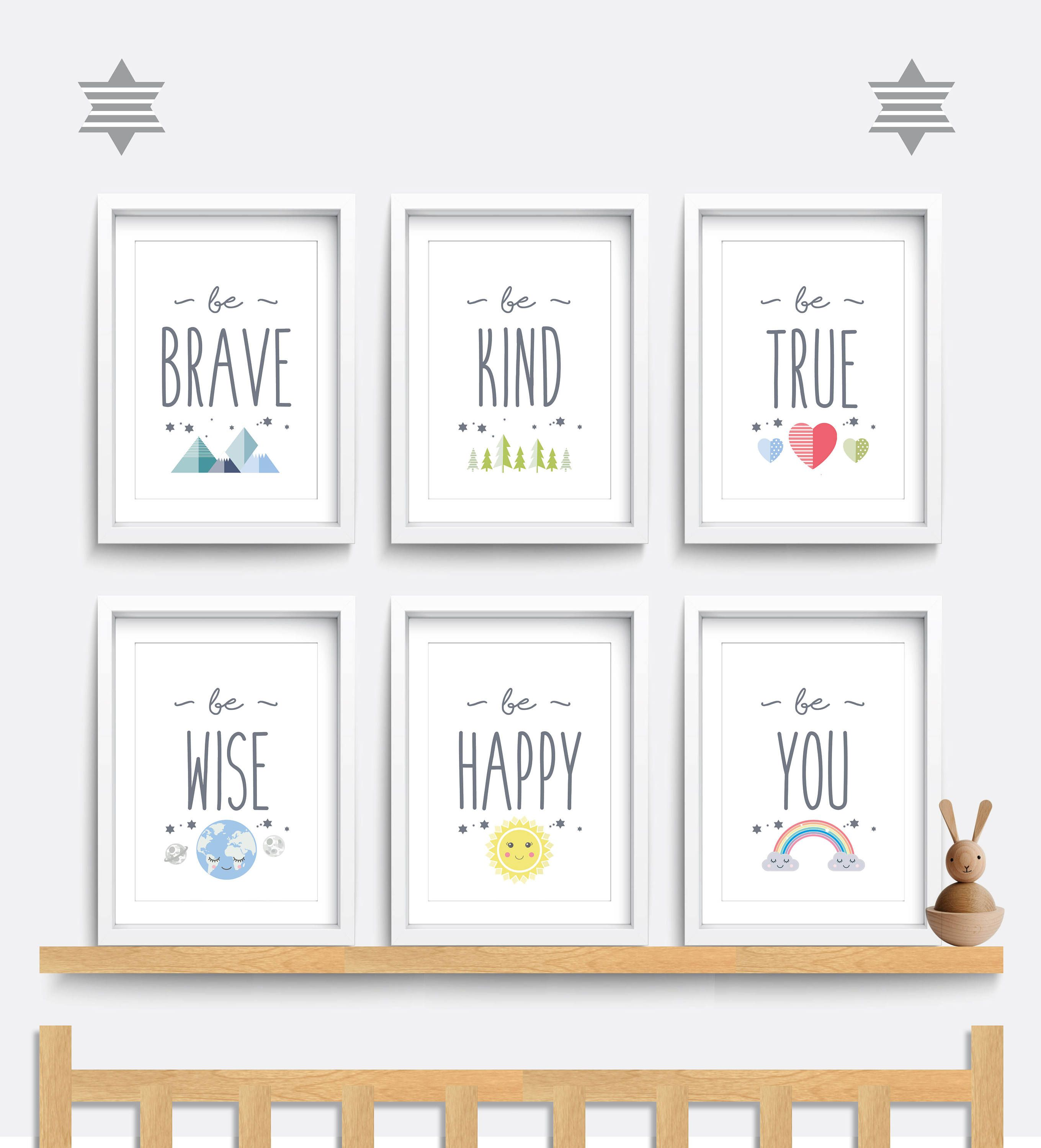 Children Motivation Quotes Children Inspire Design Love You to the Moon and Back Childrens Wall Art Print 11x14 Nursery Decor Kid/'s Room Decor Gender Neutral Decor Kid/'s Wall Art Print