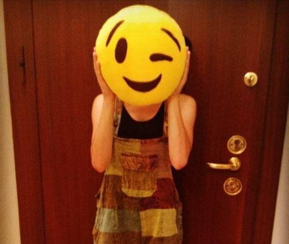 Emoji Pillow Home Decor Christmas Gift Custom Made Emoji Lovers