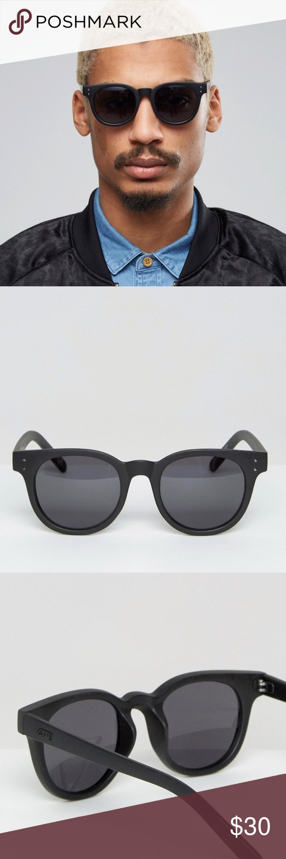 3a5f1a41d5 Vans Welborn Sunglasses In Black V5yoblk New Vans Welborn Sunglasses In  Black V5yoblk Vans Accessories Sunglasses