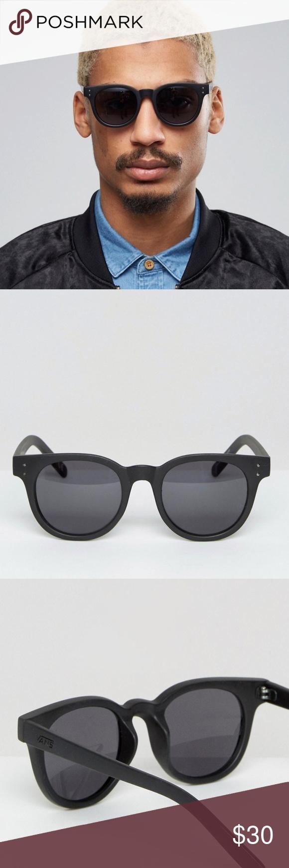 3a5f1a41d5 Vans Welborn Sunglasses In Black V5yoblk New Vans Welborn Sunglasses In  Black V5yoblk Vans Accessories Sunglasses