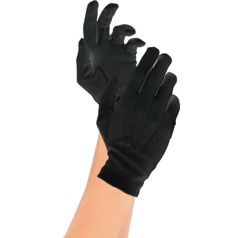 Adult Deluxe Black Gloves ($7.99) - Party City