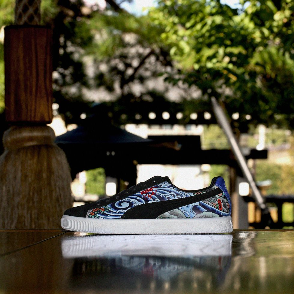 premium selection ecac3 93112 Puma Clyde x TTT for atmos available now www.atmosny.com ...