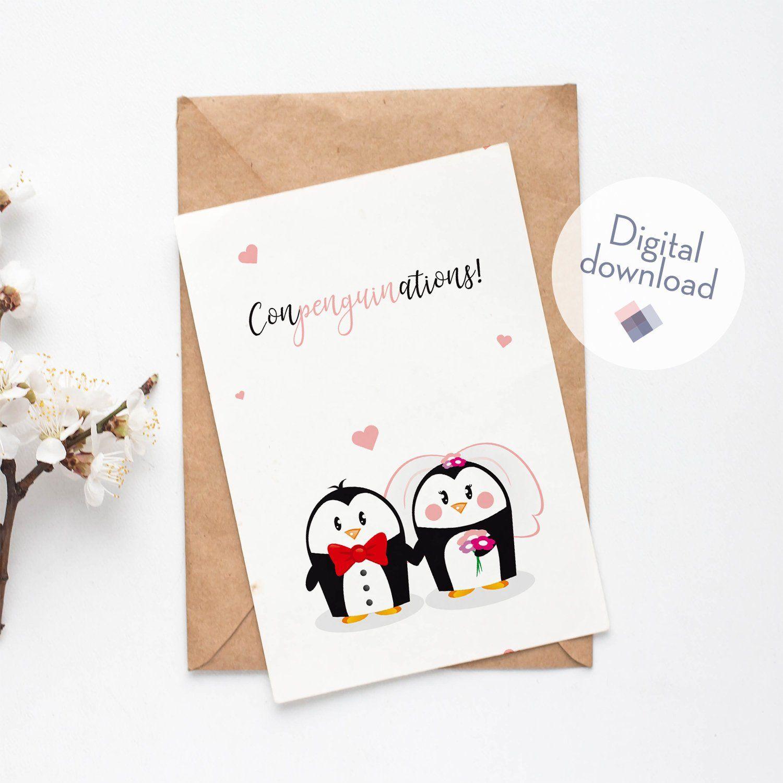 Digital Wedding Card Congratulations On The Wedding Wedding
