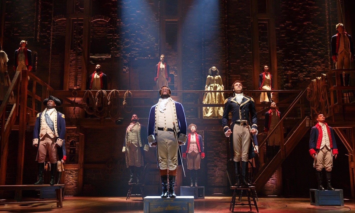 Image result for theatrical shows Hamilton tickets