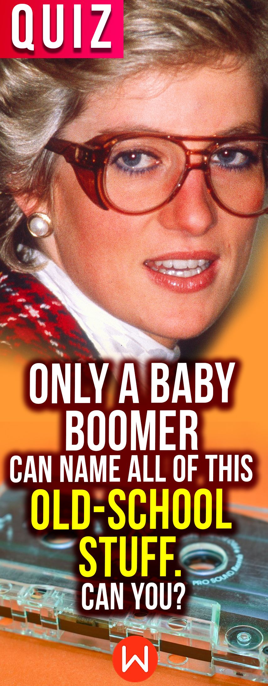 Quiz: Only A Baby Boomer Can Name All Of This Old-School
