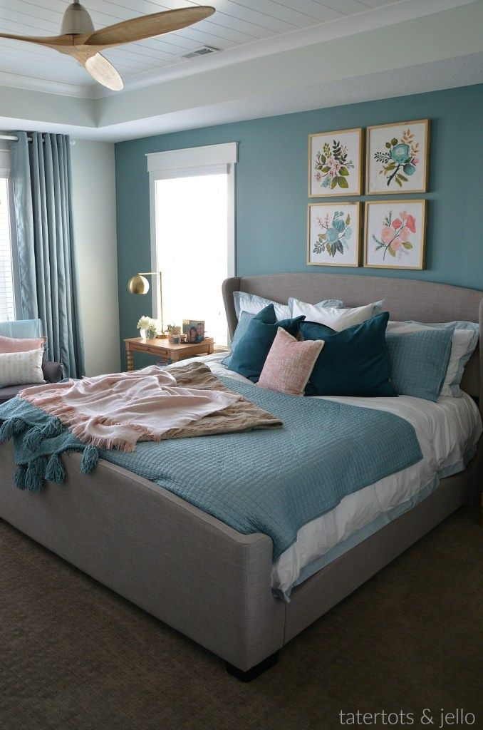 Create A Luxurious Master Bedroom Using Paint Reveal Luxury Bedroom Master Diy Master Bedroom Makeover Master Bedroom Colors