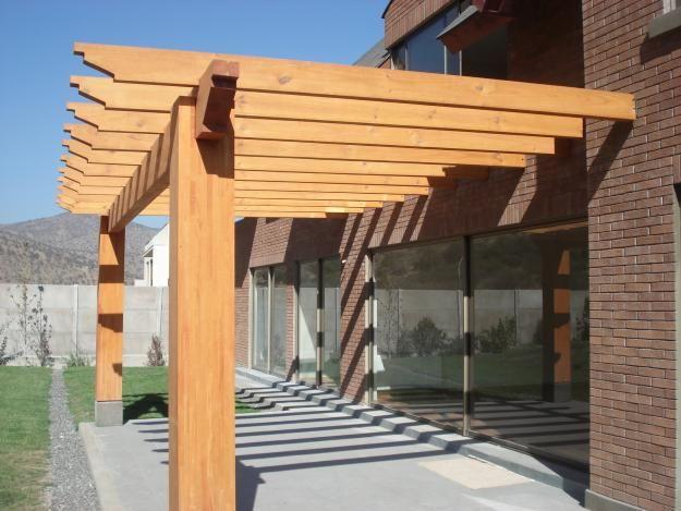 Pergolas en Santiago de Chile entrada Pinterest Pergola patio - terrazas en madera