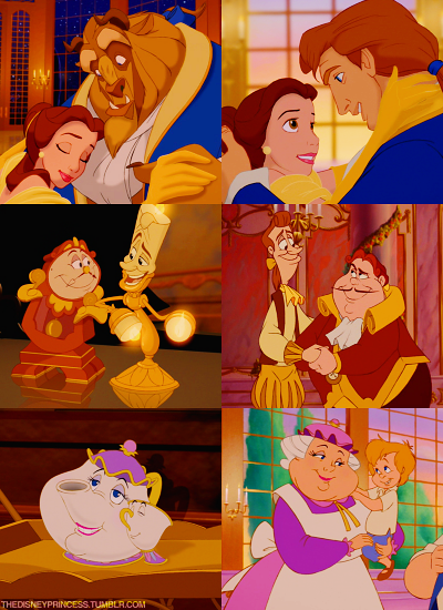 Beauty and the Beast end