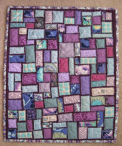 tickertape mini quilt | Mini quilts, Minis and Scrap : ticker tape quilts - Adamdwight.com