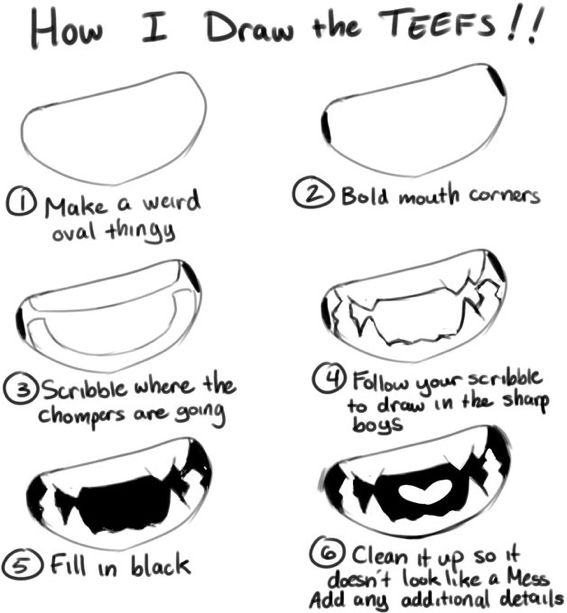 Teeth Drawing Drawing Tips Mouth Drawing Drawing Expressions