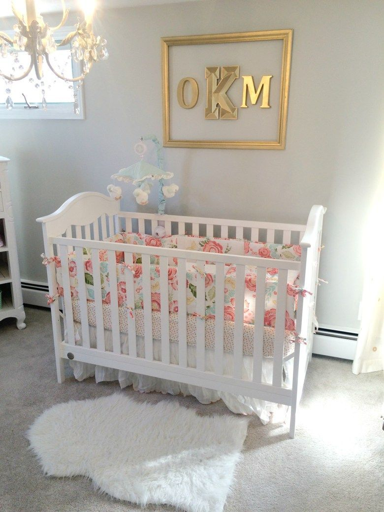 Floral Nursery Bedding Extraordinary Floral Crib Bedding  Nurserykids Roomstoys  Pinterest  Crib Inspiration Design