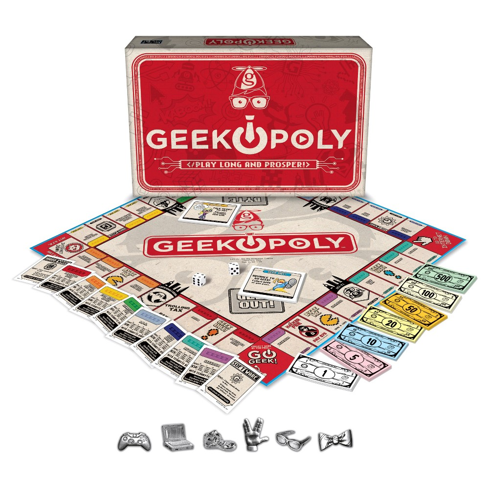Geek opoly Game Geeky games, Geek stuff, Board game geek