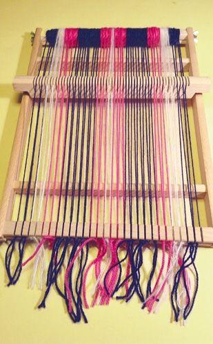 Photo of Schal weben: Anleitung mit einem Schulwebrahmen