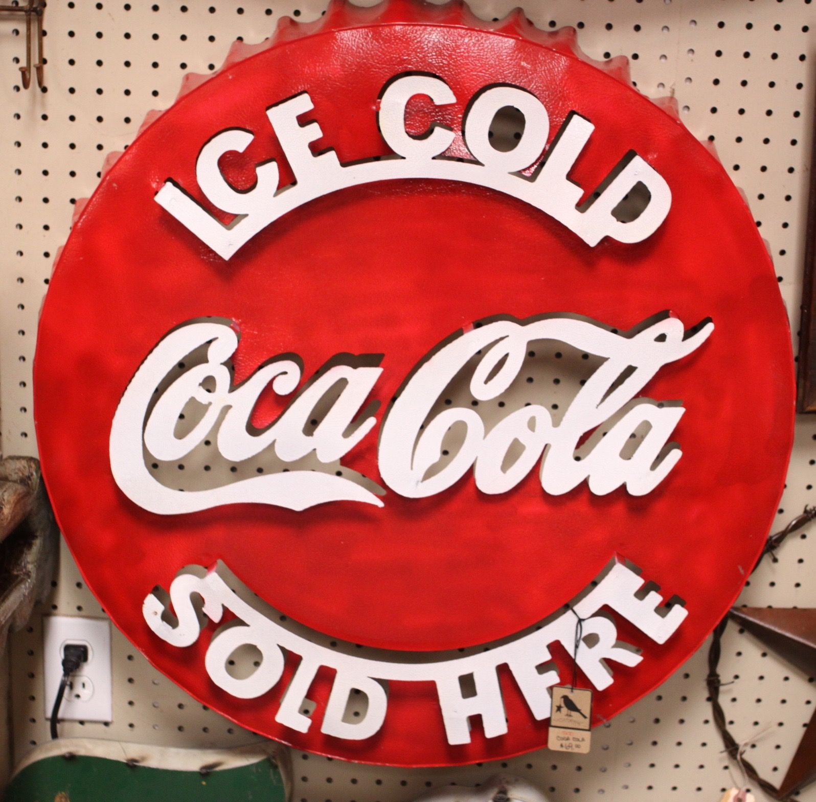 Love This Coca Cola Metal Sign This Would Look Great In