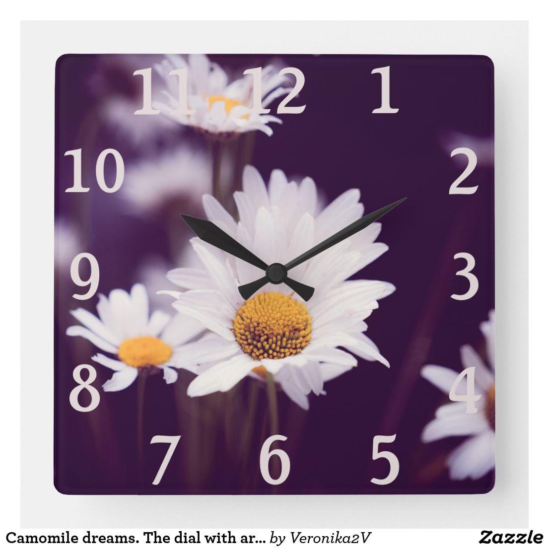 Square Wall Clock #clocks #homedecor Pretty white ...