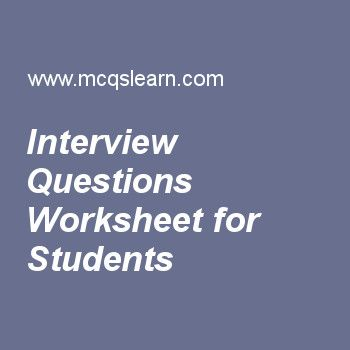 Types Of Interview Questions MCQs Quiz, Learn Types Of Interview Questions  Multiple Choice Questions Answers, Online HRM Quiz MCQs Interview Which  Consists ...