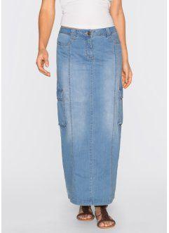 8a6606f4b83eb Jupe en jean, John Baner JEANSWEAR, bleu moyen   Vêtements et ...