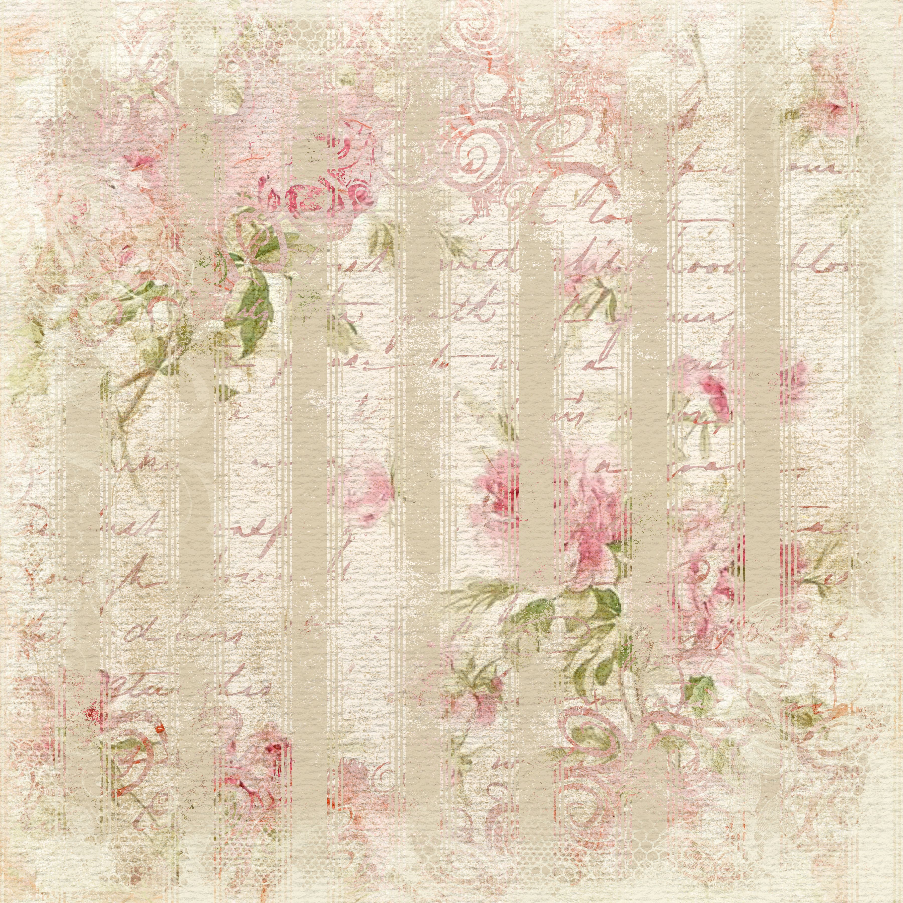 Pin By Teresa Benedict On Free Floral Paper Pinterest Decoupage