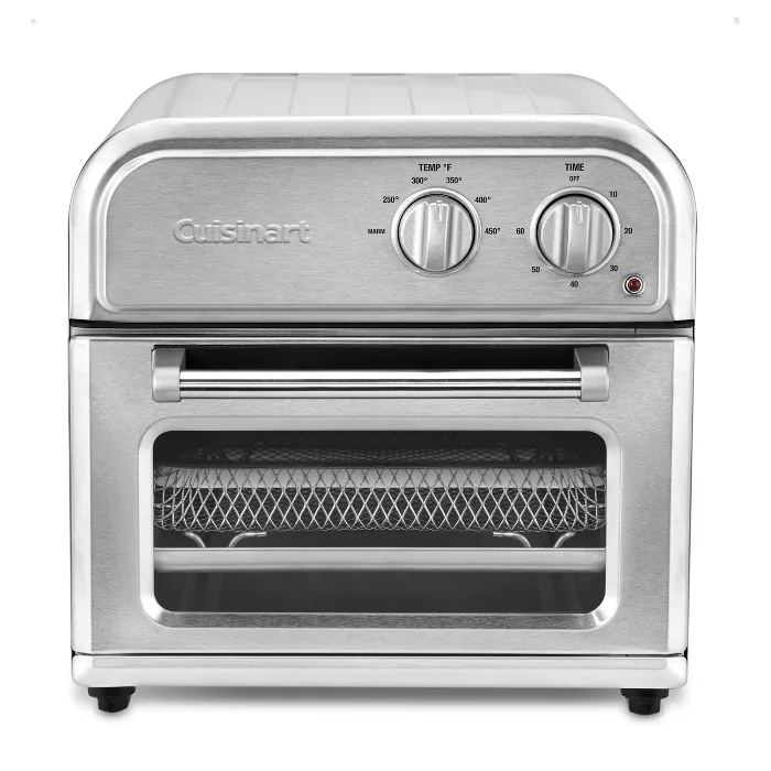 Cuisinart Compact Airfryer Toaster Oven Stainless Steel Afr 25tg Stainless Steel Oven Toaster Oven Stainless Steel Counters