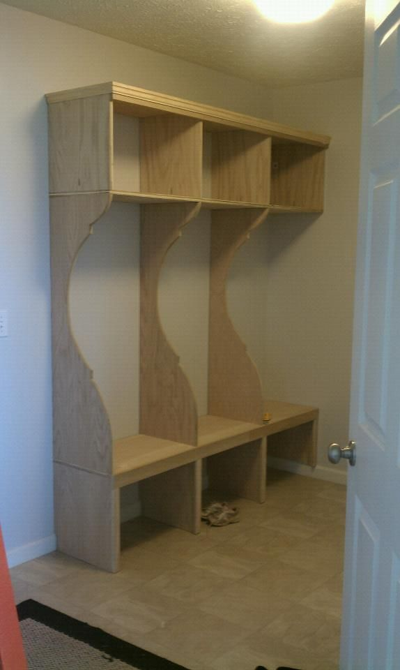Mudroom Storage Do It Yourself : Mud room do it yourself home projects from ana white