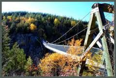 Résultats de recherche d'images pour «pont suspendu aiguebelle»
