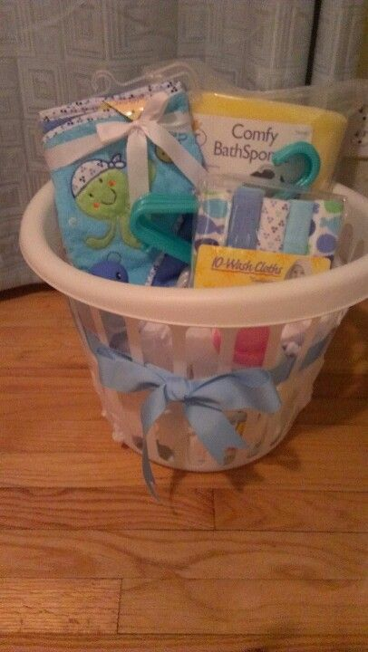 Baby laundry and bath gift basket boy jennys creations baby laundry and bath gift basket boy negle Gallery
