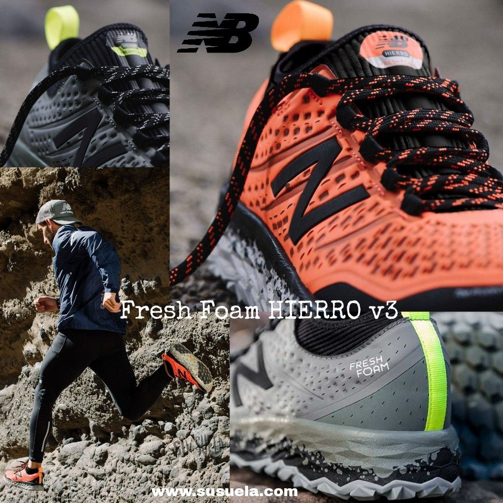 Comprar > zapatillas new balance hombre fresh foam hierro v3 ...