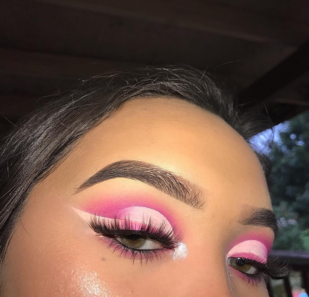 гифы макияж глаз