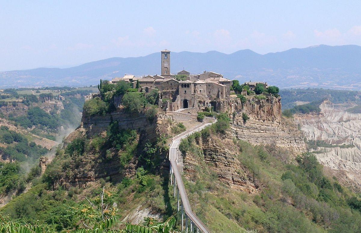 Bagnoregio Civita Panorama Civita Di Bagnoregio Wikipedia