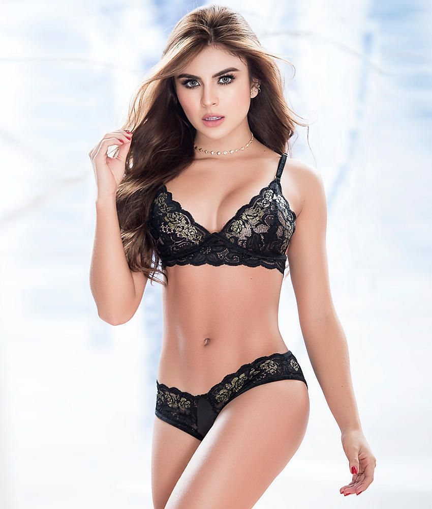 632947ebdd Mapale 2 Piece Bra and Panty Set Red MA8202R via Love Temptation. Click on  the image to see more!