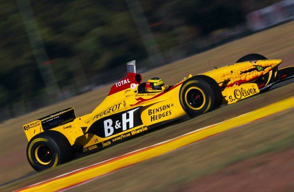 Image result for jordan 197 f1 car