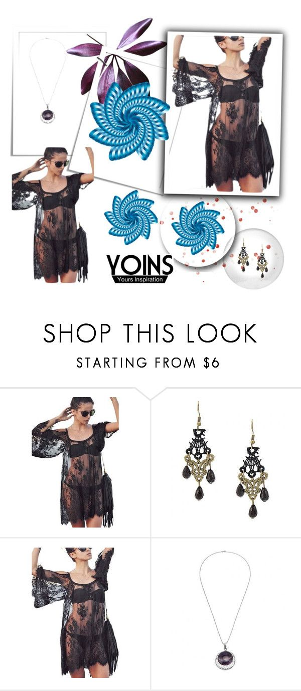 """YOINS 19"" by ajdin-lejla ❤ liked on Polyvore featuring women's clothing, women's fashion, women, female, woman, misses, juniors, polyvoreeditorial and yoins"
