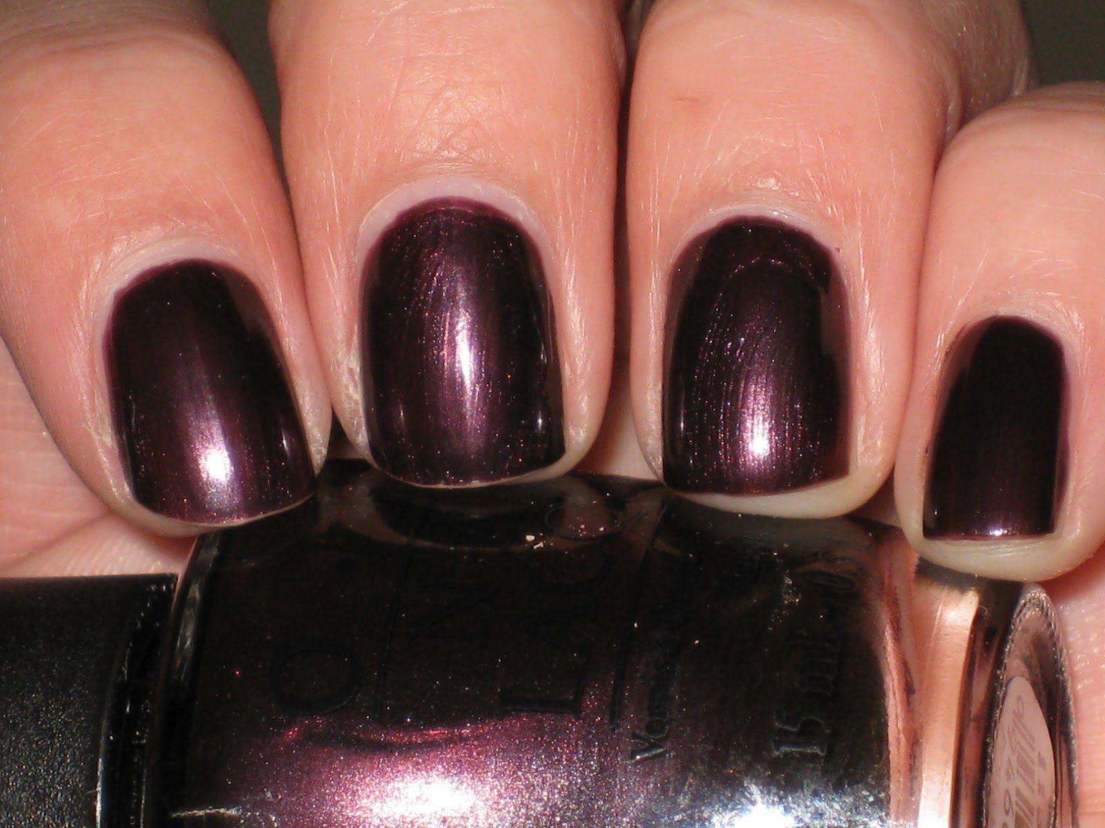 Nails inc gel nail colors and gel nail polish on pinterest - Opi Gel Nail Polish In Vampsterdam Good Fall Color