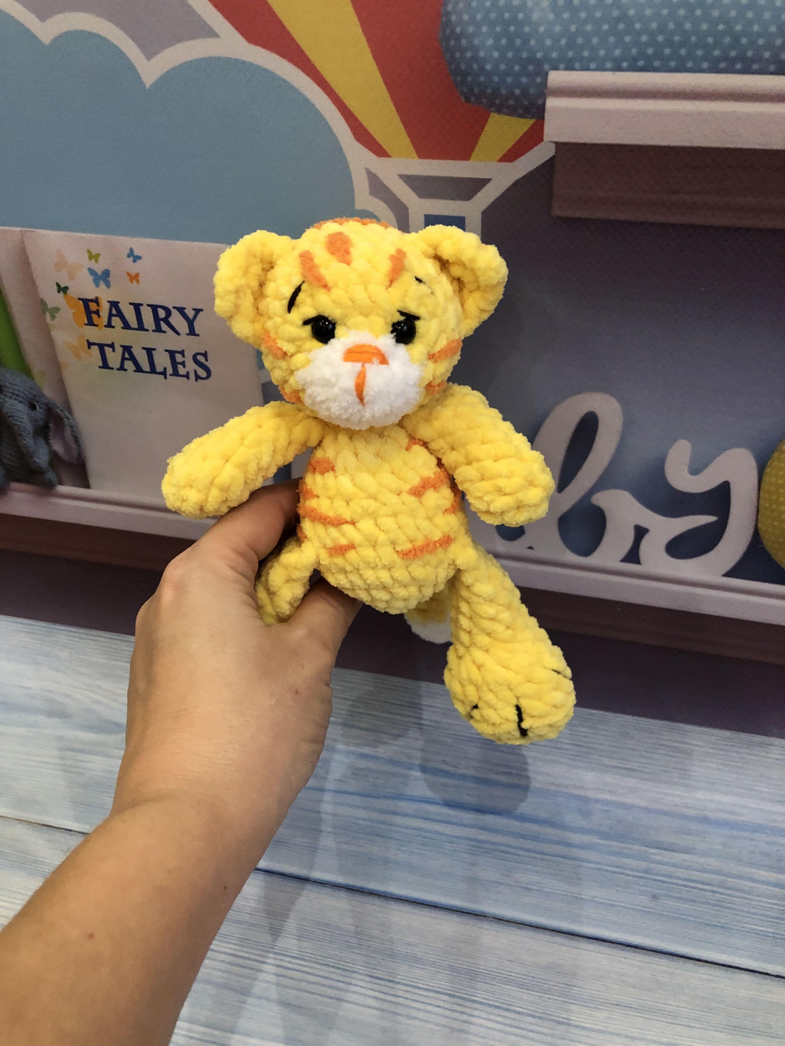 Tiger stuffed animal Tiger plush toy baby shower Tiger