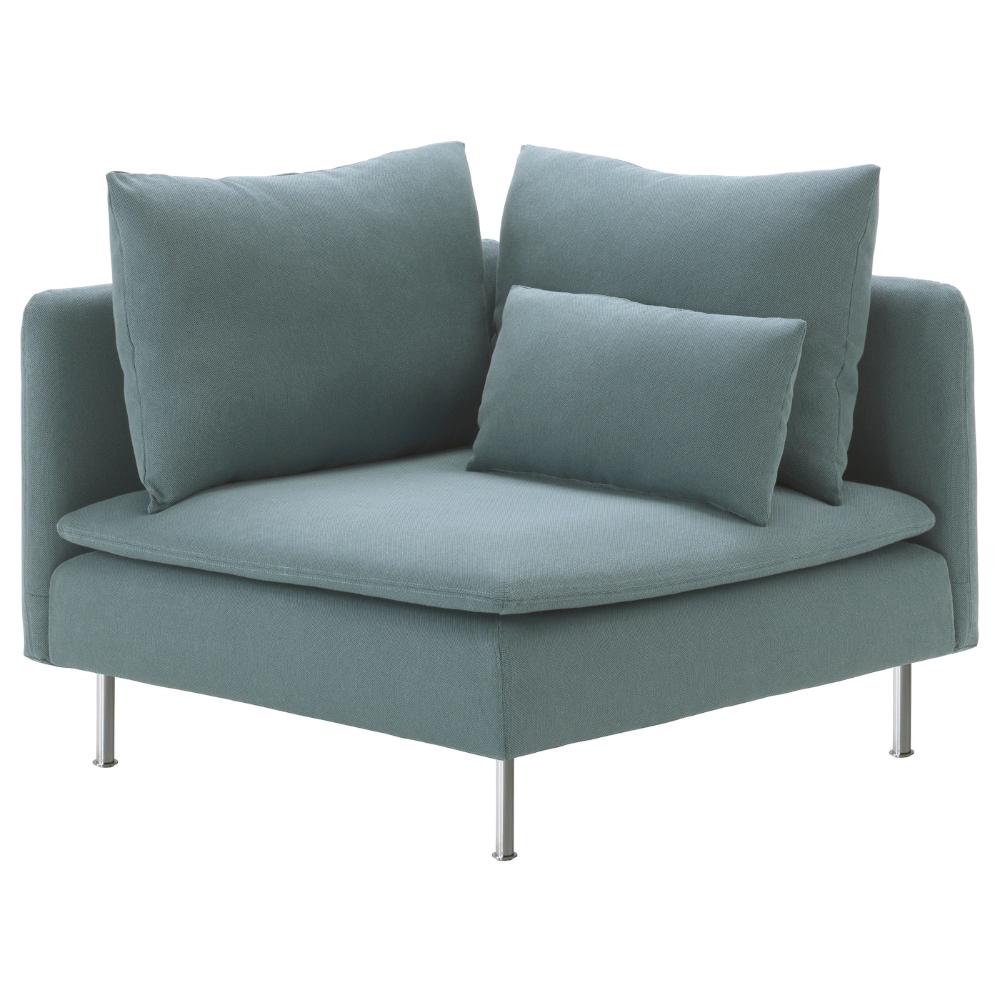SÖDERHAMN Corner section, Finnsta turquoise IKEA in 2020