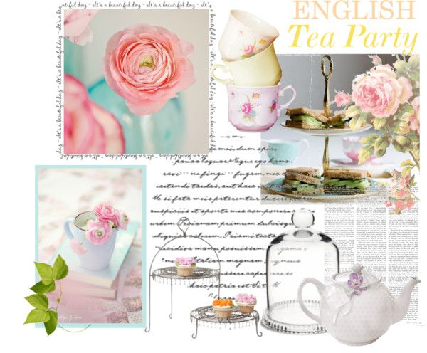"""""""Tea Party"""" by hellodollface on Polyvore"""
