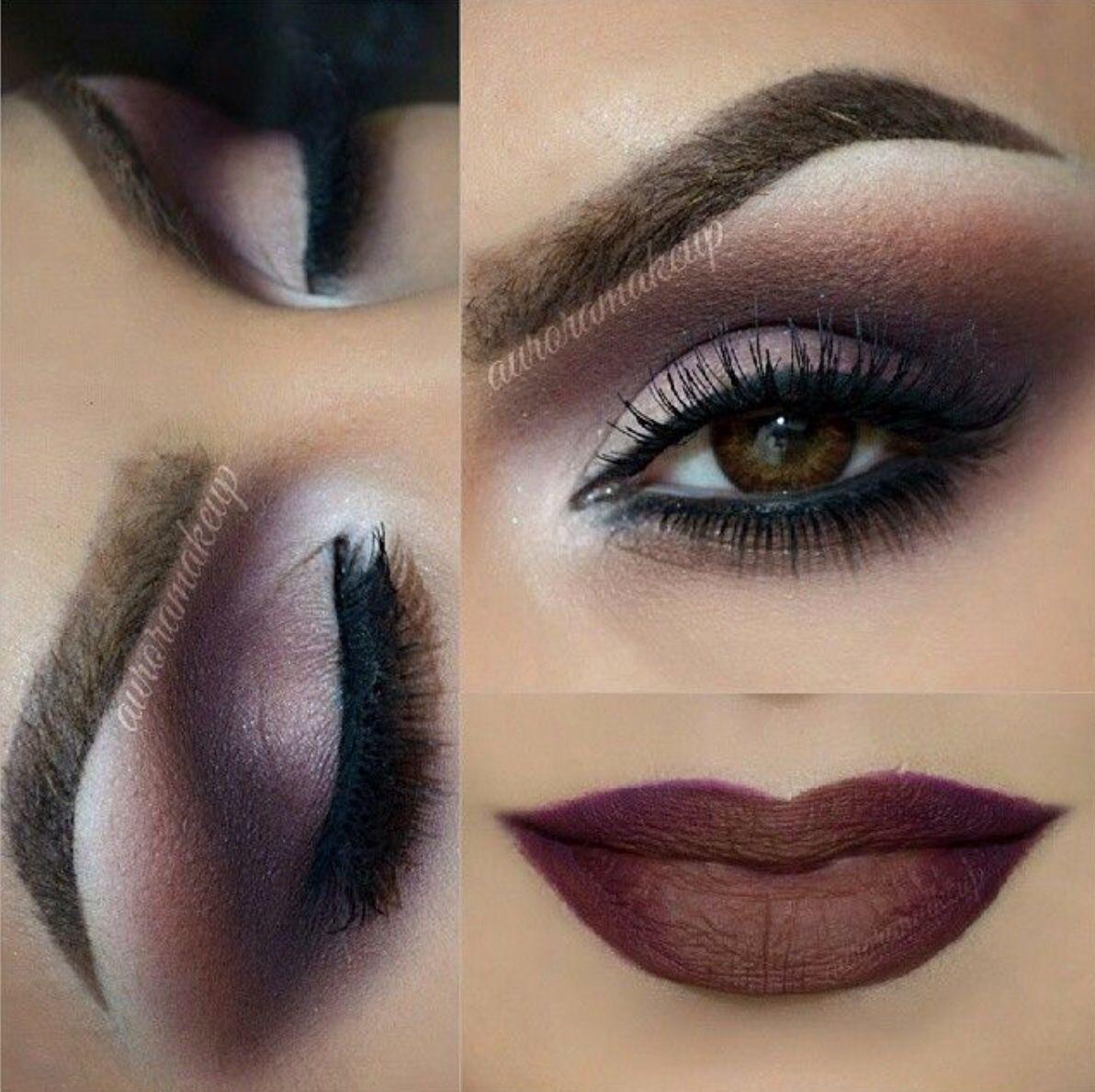 avond makeup Oog make up, Ogen, Bruine ogen