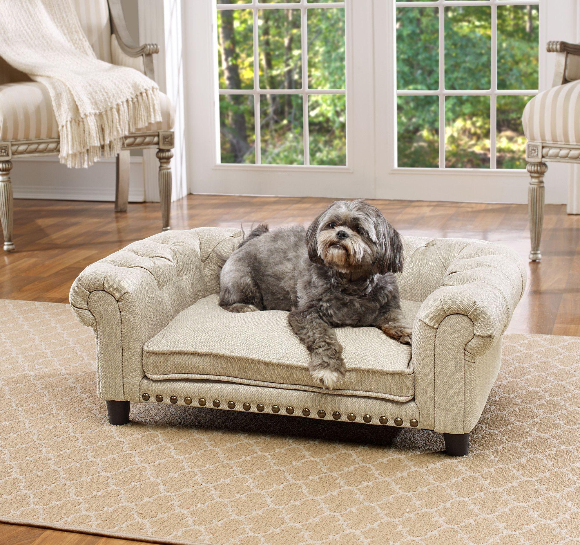 Enchanted Home Pet Melbourne Dog Bed Tufted dog bed, Pet