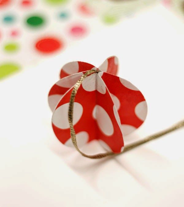 pintalalluna  Adornos navideños de papel Ideas para el hogar - objetos navideos