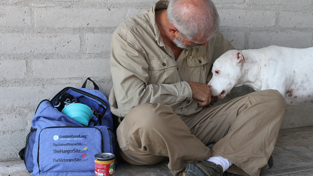 Send a Good Pack to a Homeless Veteran and Their Pet